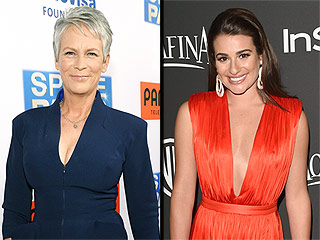 Scream Queens: See the First Photo of Lea Michele and Jamie Lee Curtis on Set