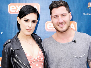 No, You're Amazing! Val Chmerkovskiy Gushes Right Back at DWTS Partner Rumer Willis | Rumer Willis, Val Chmerkovskiy