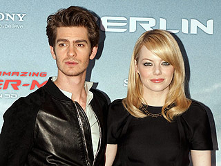 Emma Stone and Andrew Garfield Get 'Very Cuddly' During LA Dinner