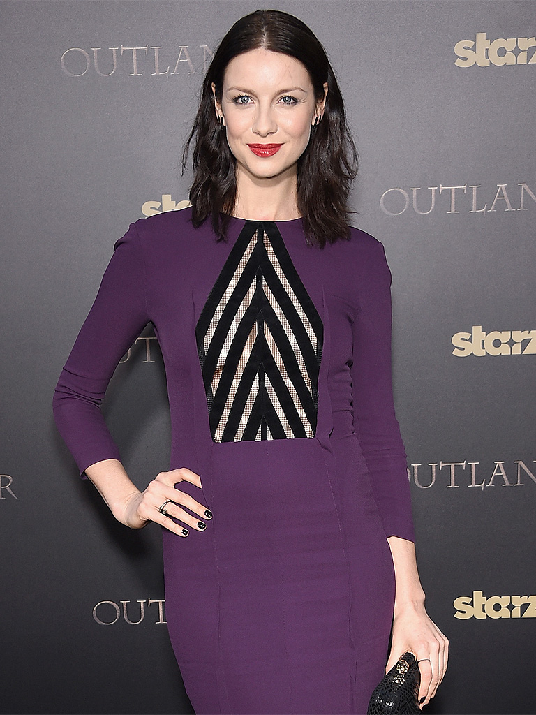 Caitriona Balfe on Outlander Nudity: Im Used to Stripping in a Room of 30 People - YouTube