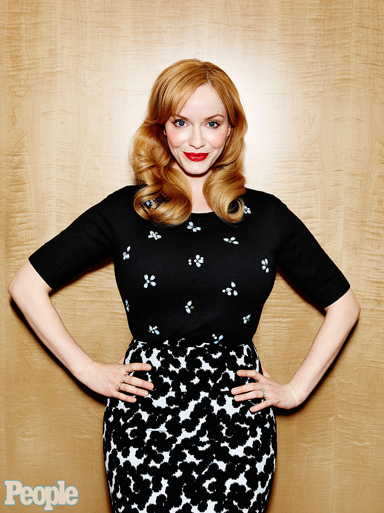 Mad Men: Christina Hendricks Says Show Changed Her Life ... Christina Hendricks