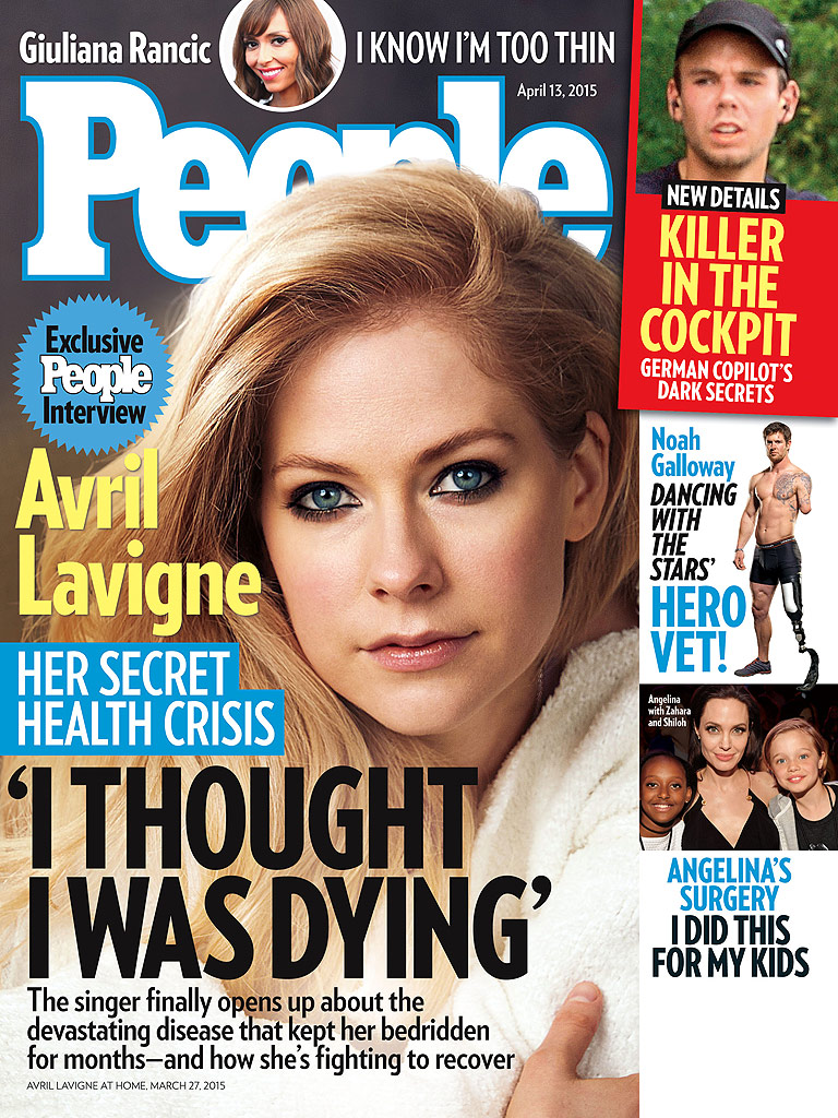 How Avril Lavigne's Mom, Fans and Husband Helped Her Through Her Health Crisis| Health, Avril Lavigne
