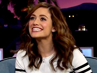 Emmy Rossum Talks Raising Awareness For Testicular Cancer: 'It's Important To Start a Dialogue'