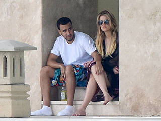 Khloé Kardashian and French Montana Show Sweet PDA in Miami