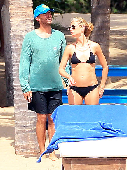 Gwyneth Paltrow and Chris Martin Vacation in Mexico