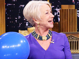 Helen Mirren Sucks Helium, Plus 10 Other Hollywood Mavens Who Prove the Fun Doesn't Stop at 50 | Helen Mirren