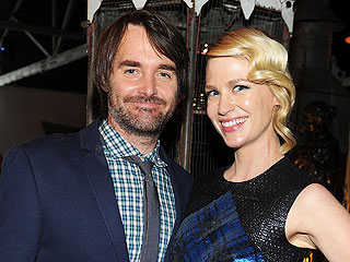 January Jones and Will Forte Are Dating!