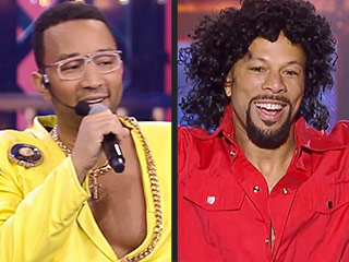 John Legend and Common Throw It Way, Way Back in Their Hilarious Lip-Sync Battle (VIDEO)