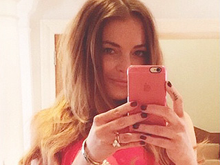Lindsay Lohan Is the Latest Star to Join the Waist-Training Craze