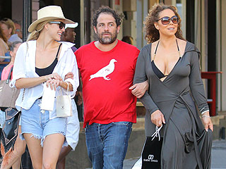 Mariah Carey and Brett Ratner Stroll Arm-in-Arm in St. Barts After Denying Their Romance