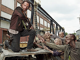 FROM EW: Go Behind the Scenes of The Walking Dead Season 6