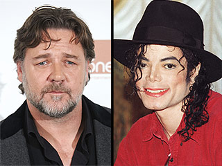 Russell Crowe Fondly Recalls Michael Jackson's 'Funny' Prank Calls