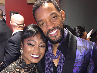 Will Smith Reunites With The Fresh Prince of Bel-Air Costar Tatyana Ali