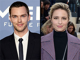 Nicholas Hoult & Dianna Agron Step Out Together in England, Spark Romance Rumors