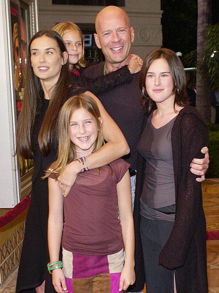 Bruce Willis Daughters 2015