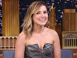 Sophia Bush Poses Topless with Nothing but Amy Schumer's EW Cover (PHOTO)