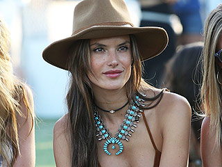 Alessandra Ambrosio Feels Healthy Despite Reports of Post-Coachella Hospitalization