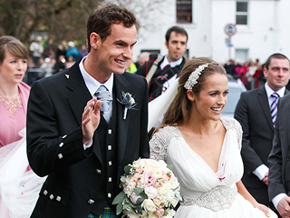 Andy Murray Marries Kim Sears in Scotland – See the Photos