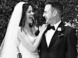 See David Arquette and Christina McLarty's Official Wedding Photo