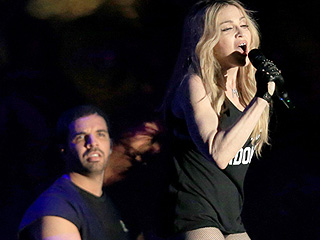 Madonna Makes Out with Drake at Coachella: See His Shocked Reaction