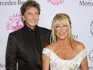 Suzanne Somers Talks About 'Happy' Newlywed Barry Manilow