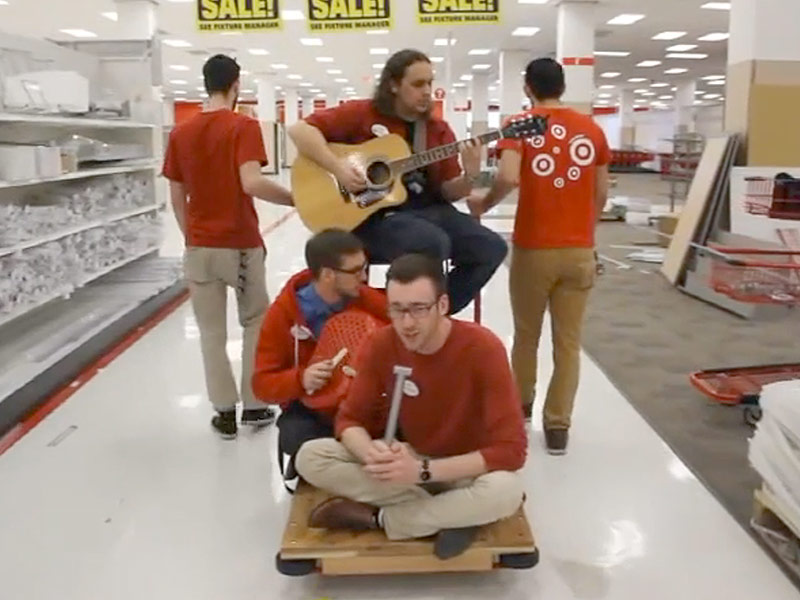 Target employees sing semisonic cover people com