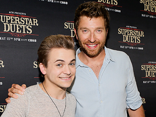 Hunter Hayes and Brett Eldredge Charmingly Entertain Fans During Weather Delay