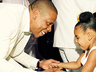 See Jay Z and Blue Ivy Dance at Tina Knowles Lawson's Wedding