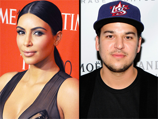 Kim Kardashian on Brother Rob's Struggles: 'He's Not Comfortable in His Own Skin'