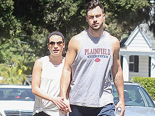 Lea Michele Celebrates One Year Since She Met Boyfriend Matthew Paetz