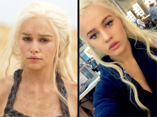 Seeing Double: Daenerys Targaryen's Stand-In Is the Spitting Image of the Khaleesi Herself