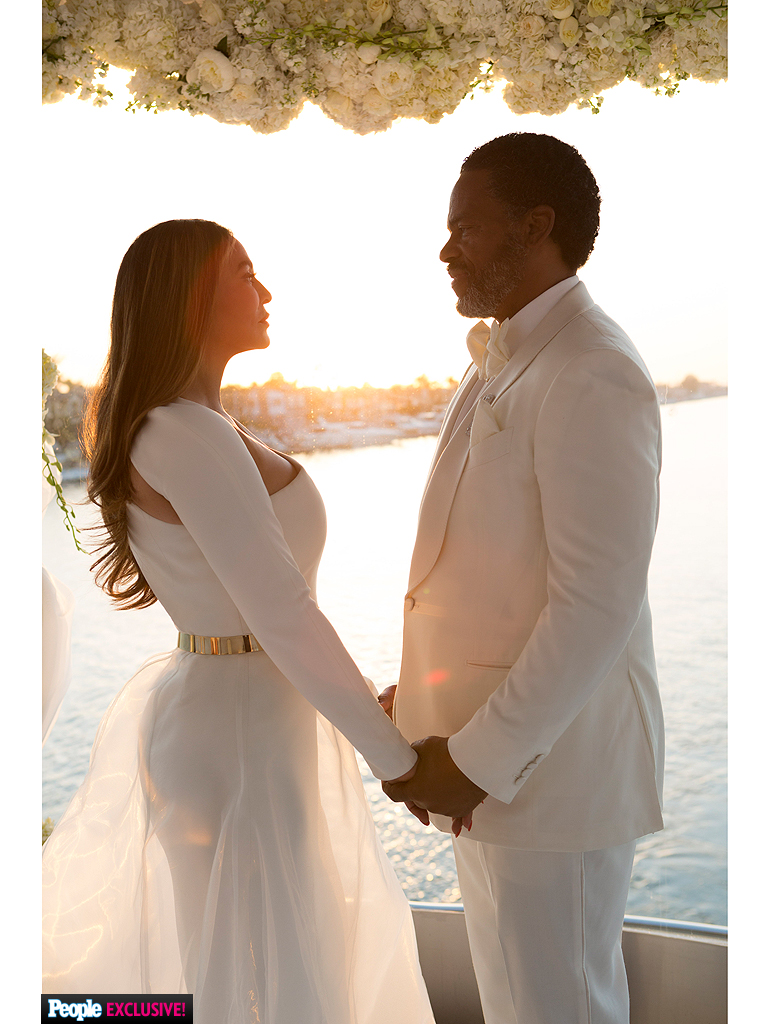 tina knowles wedding details about her marriage to