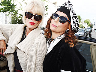 From EW: The Absolutely Fabulous Movie Is Officially Happening | BBC, Absolutely Fabulous, Jennifer Saunders, Joanna Lumley