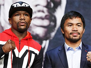 Floyd Mayweather Jr. Wins 'Fight of the Century' Against Manny Pacquiao
