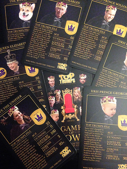 Prince George's Game of Crowns card