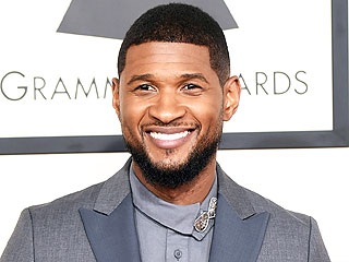 Usher Enjoys an Italian Feast at Boston's Most Famous Pizza Restaurant