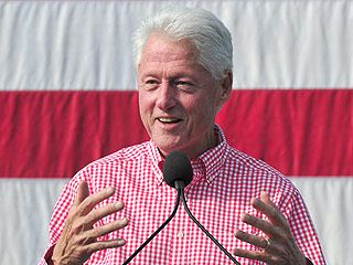 Bill Clinton Defends His $500,000 Speaking Fees: 'I Got to Pay Our Bills'