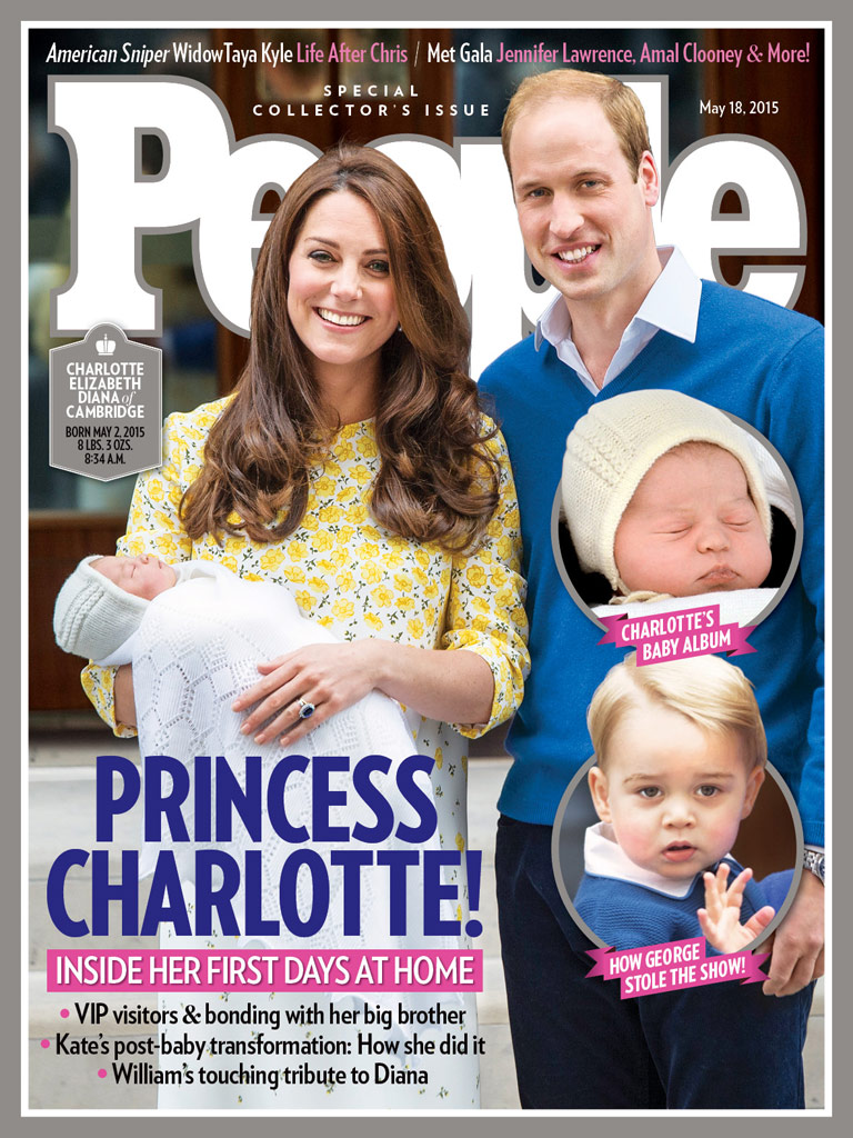 All the Details on Princess Charlotte's Spanish-Made Baby Bonnet (It Was on Backwards!)| The British Royals, The Royals, Royal Baby 2, Kate Middleton, Prince William, Princess Charlotte