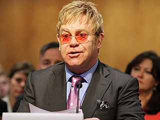 Elton John Tells Congress: You Have 'the Power to End AIDS'