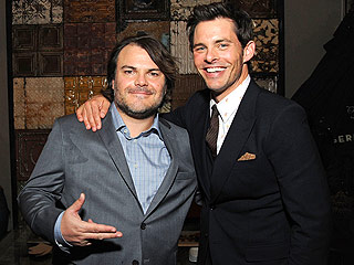 Jack Black Felt 'Insecure' About His The D Train Sex Scene with James Marsden: 'He's a Real Physical Specimen'