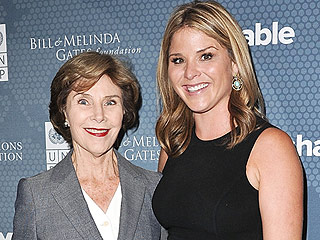 Inside Jenna Bush Hager's 'Most Precious' Times with Her Mom and Daughter (VIDEO) | Jenna Bush, Laura Bush
