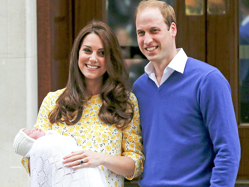 Prince William and Princess Kate Introduce Their Baby Girl