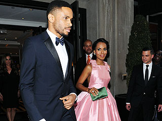 Kerry Washington & Nnamdi Asomugha Make Rare Red Carpet Appearance Together – Two Years After Secret Wedding (PHOTO)