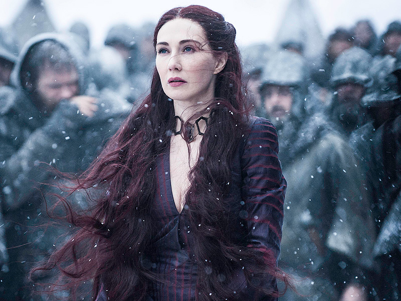 FROM EW: Game of Thrones' Melisandre on Nude Scenes and Using 'Sexuality as a Weapon'