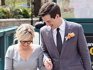 Rachael Harris Elopes with Christian Hebel – with Neil Patrick Harris as Their Witness!