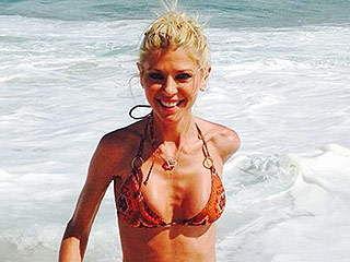 Bikini-Clad Tara Reid Splashes in the Waves in New Vacation Photos