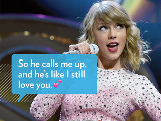 We Tried the Taylor Swift Texting App & Things Got Weird