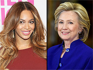 Beyoncé Attends Hillary Clinton Fundraiser | Beyonce Knowles, Hillary Rodham Clinton