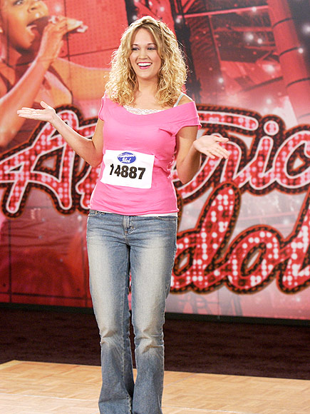 carrie underwood 39 s first audition on american idol