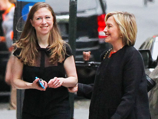 Hillary Clinton Celebrates Mother's Day with Daughter – and New Mom – Chelsea
